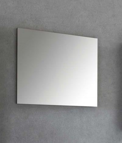 Miroir de salle de bains Benja sans cadre - gris graphite