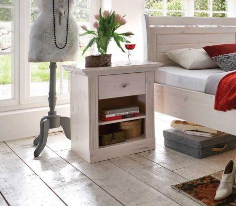 Table de Chevet Edmund - blanc