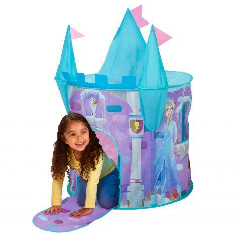 Tente de jeu pop-up La Reine des Neiges 2 château
