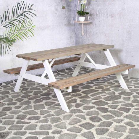 Table de pique-nique Simone 180cm