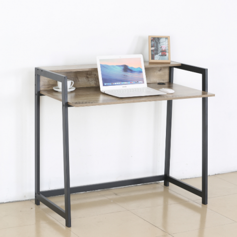 Bureau Nola 104cm - noir/brun