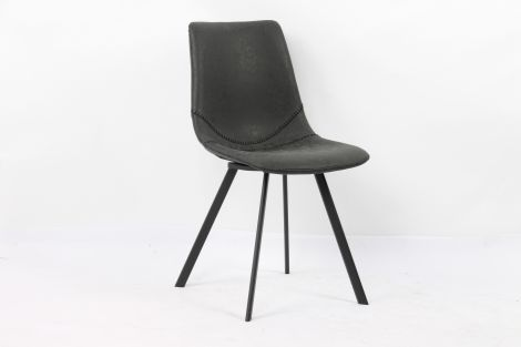 Lot de 2 chaises Norway - noir