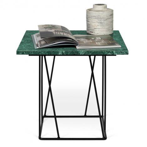Table d'appoint Helix - marbre vert