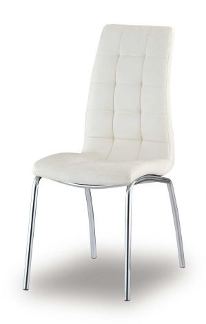 Lot de 2 chaises Merlino - blanc