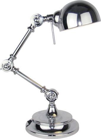 Lampe d'appoint Hubli - nickel - 40w E14