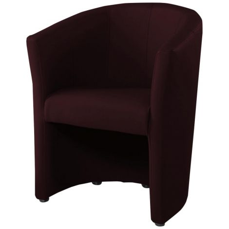 Fauteuil cabriolet Charlie - brun