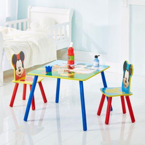 Table et chaises d'enfant Mickey Mouse