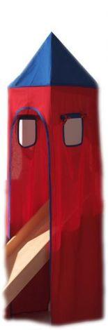 Tente tour - bleu/rouge