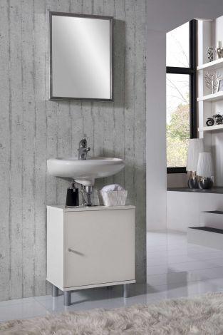Meuble sous lavabo Rowan - blanc