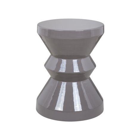 Table d'appoint Diavolo ø35cm - gris