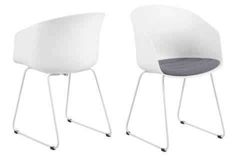 Set de 2 chaises Anouck - blanc