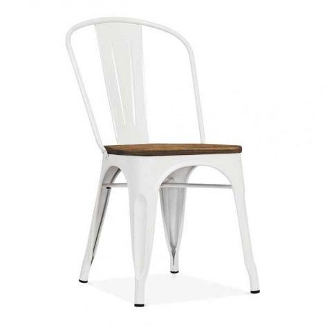 Ensemble de 4 chaises Victoria - blanc