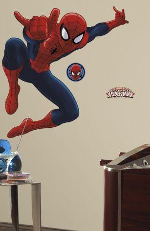 RoomMates stickers muraux - Ultimate Spiderman