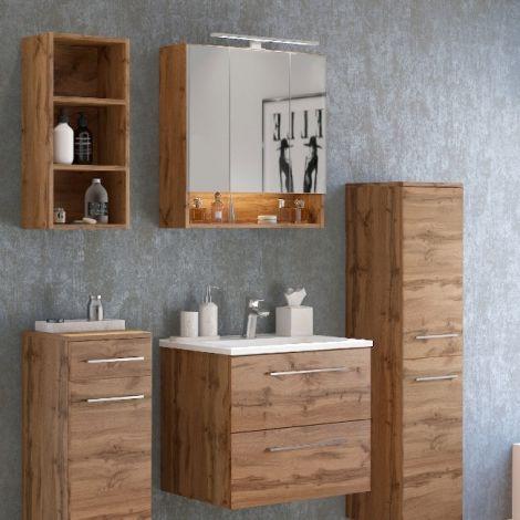Ensemble salle de bains Sefa 3 - chêne wotan