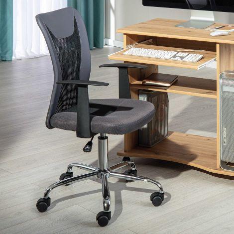 Chaise de bureau Donny - gris