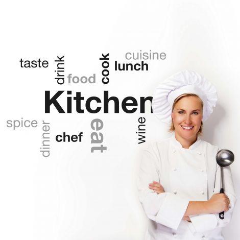 Sticker mural Kitchen