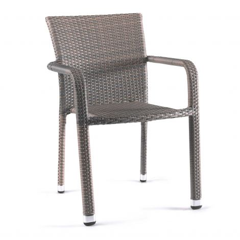 Chaise de jardin Batilda - gris