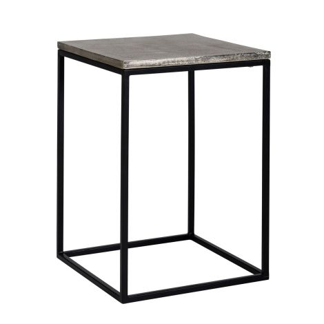 Table d'appoint Lanson 40x40 - champagne