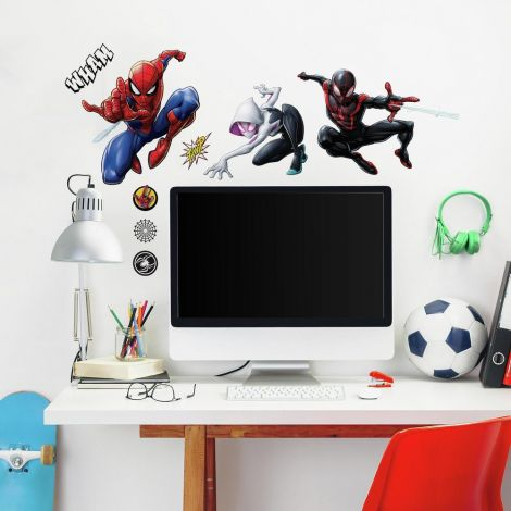 Stickers muraux Spider-Man & Miles Morales