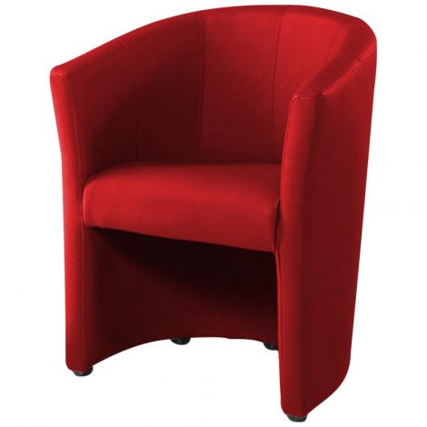 Fauteuil cabriolet Charlie - rouge