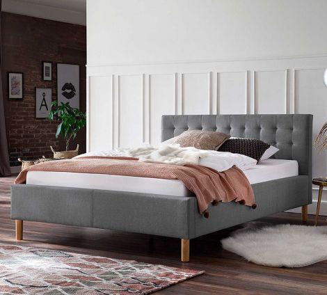 Lit Marilou 120x200 - gris