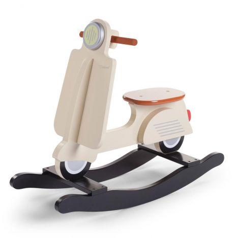 Scooter à bascule - crème