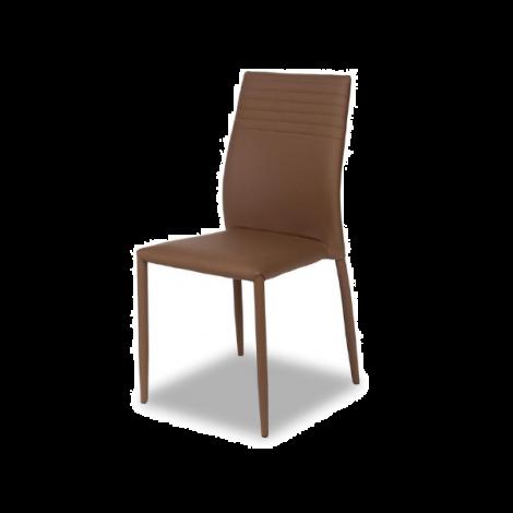 Lot de 6 chaises Broadway - brun