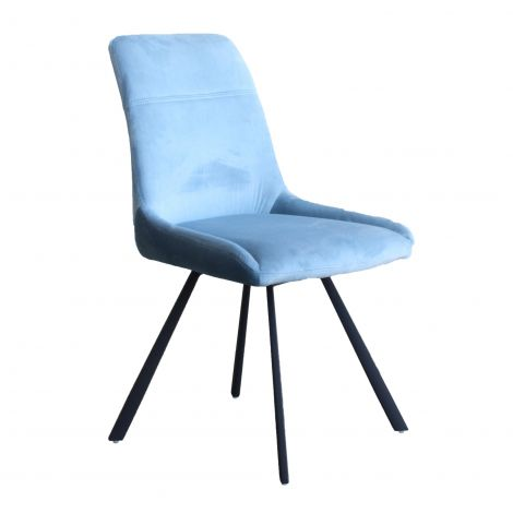 Jeu de 2 chaises Ardis - bleu