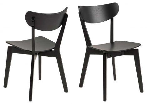Set de 2 chaises Adelaide - noir