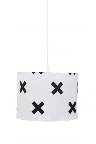 Suspension Cross - blanc/noir