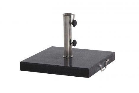 Pied de parasol carré en granit - 40 kg