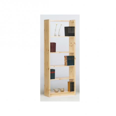 Bibliothèque Olan 65cm avec 4 étagères - nature