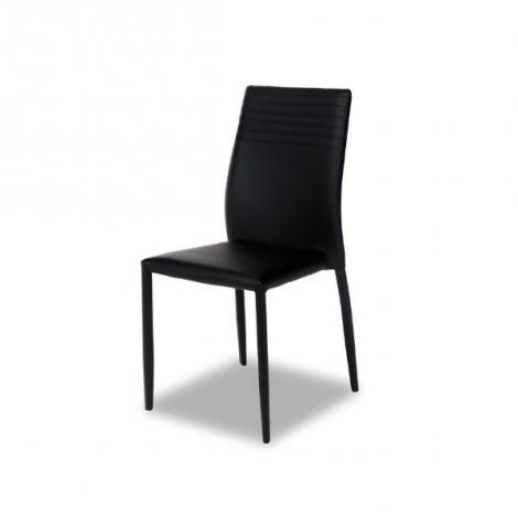 Lot de 6 chaises Broadway - noir
