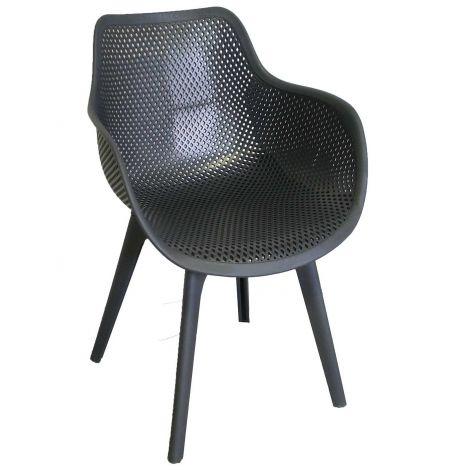 Chaise de jardin Jelle - anthracite