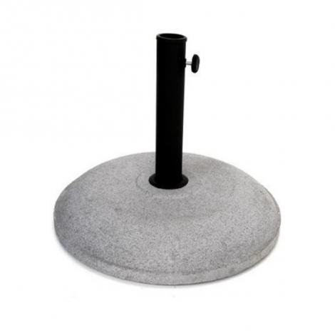 Pied parasol rond - ciment