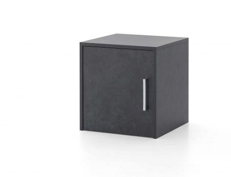 Surmeuble/meuble suspendu Maxi-office 1 porte - graphite