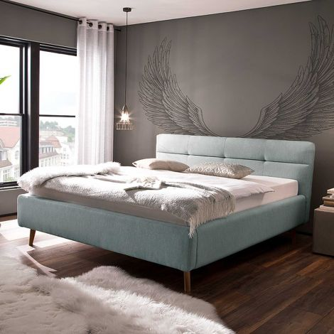 Lit coffre Lode 180x200 - bleu