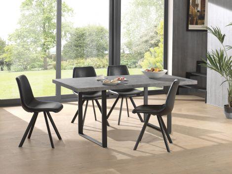 Table à manger Ellen 180x90 - béton