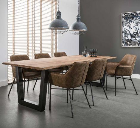Table à manger Camille 100x200cm - acacia