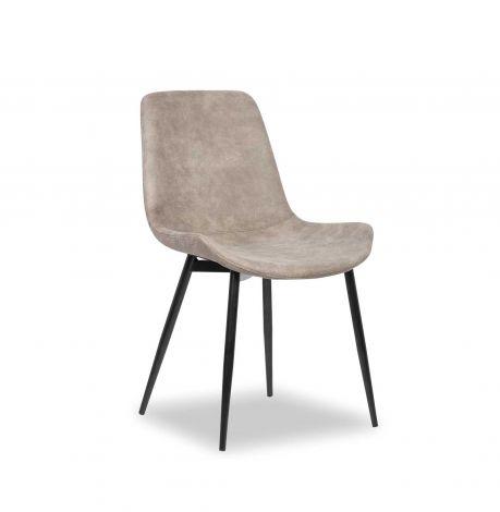 Lot de 2 chaises Monaco - gris