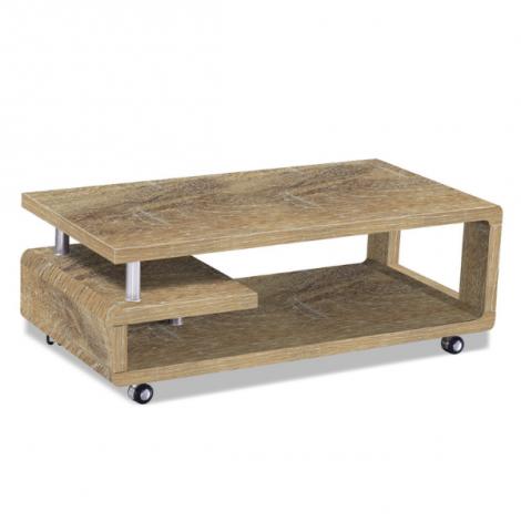 Table basse Hakim 115x60 - chêne vieilli