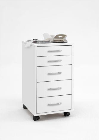 Caisson à tiroirs Till - blanc