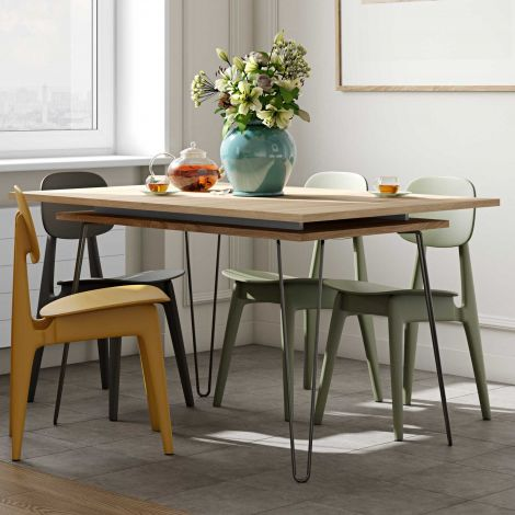 Table extensible Jiro 134/174 - chêne