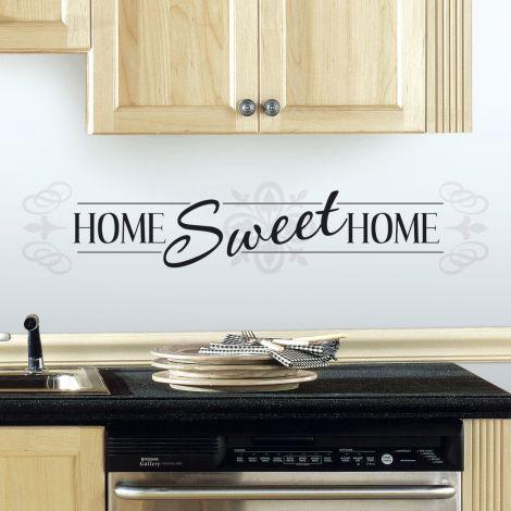 Sticker mural Home Sweet Home
