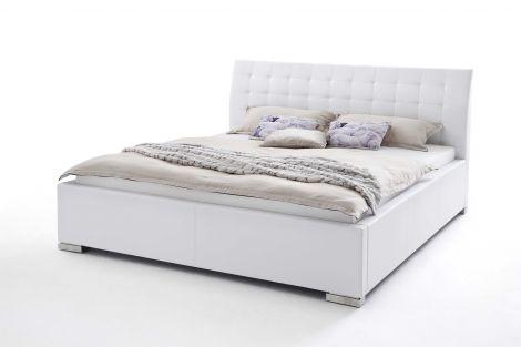 Lit Isa Confort 140x200cm - blanc