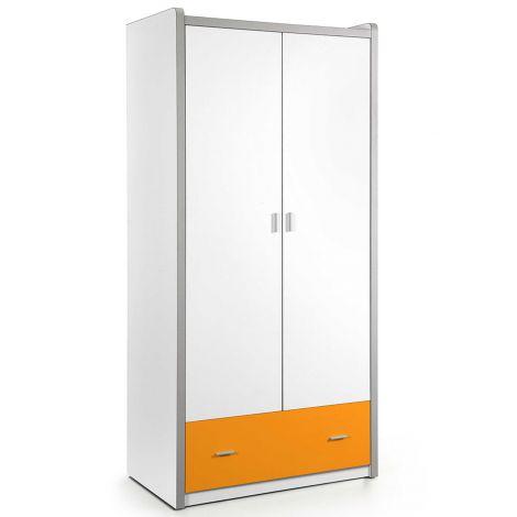 Armoire Bonny 2 portes - orange