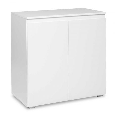 Armoire d'appoint Image 2 portes - blanc