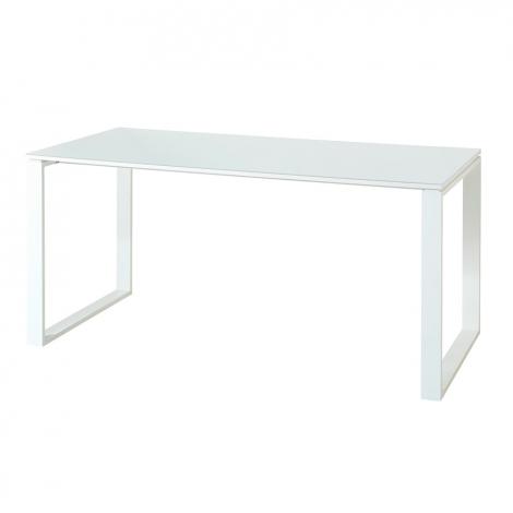 Bureau Mouna 160cm - blanc