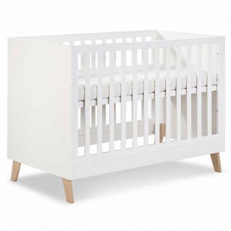 Lit bébé Neil 60x120 - blanc