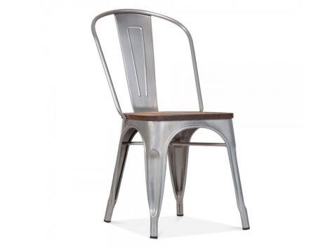 Ensemble de 4 chaises Victoria - gris